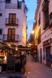 Seville at twilight