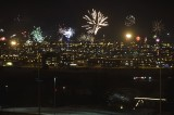 Celebrating the comming of 2014 in Iceland