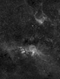 NGC 3576 160 min Ha OS Veloce RH 200 with STL11K