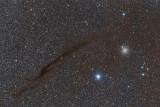 NGC 4372 and Dark Lane Doodad (3614x2422 pixels)