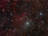vdB 133, LBN 219, Sh2-106 (The Celestial Snow Angel) in Cygnus
