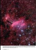 IC 4628 GUM 56 The Prawn Nebula