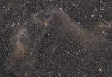 Jacob's Ladder - IC4633, IC4635 and IFN in Apus (also Sarah's Nebula)