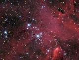 Thackerays Globules & Churchill's Cigar in the Running Chicken Nebula / IC 2944 IC 2948 (Centaurus)
