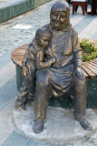 Modern statues in Antalya