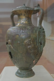 Bronze amphora