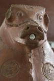 Kayseri Archaeological Museum Bull head jar september 2014 2236.jpg