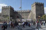 Kayseri along walls