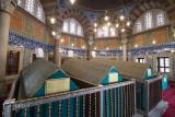 Istanbul Suleymaniye Mosque Grave Suleyman 2015 1231.jpg