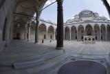 Istanbul Suleymaniye Mosque Inside court area 2015 1327.jpg