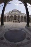 Istanbul Suleymaniye Mosque Inside court area 2015 1329.jpg