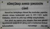 Istanbul Kurkcubasi Ahmed Semsedin mosque 2015 0025.jpg