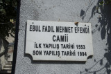Istanbul Ebul Fadil Mehmet Efendi mosque 2015 8986.jpg