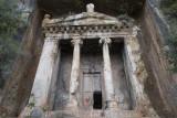 Fethiye's rock graves