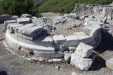 Rhodiapolis Agora area Round temple October 2016 0417.jpg