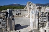 Rhodiapolis Agora area temple October 2016 0409.jpg
