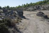 Rhodiapolis western side entrance area October 2016 0376.jpg