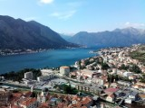 The city of Kotor at the far end of the Bay