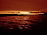 Sunset in the Adriatic