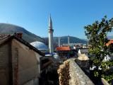 Minarets and church steeple