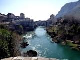 The bridge in Mostar