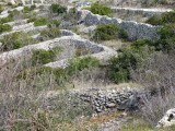 The stone walls of Havr, for irrigation and flood control