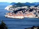 The classic view of Dubrovnik