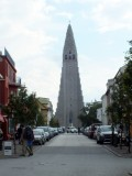 Hallgrimskirkja Church - take the elevator to the top for beautiful views of Reykjavik