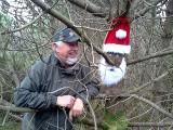 Julenissen er klarfor hyggelig samtale - hele Julen