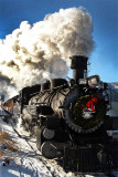 Engine #482, Durango to Silverton