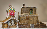 A Pueblo Gingerbread House