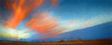 Bosque Sunset Palette