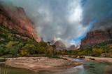 Zion Canyon morning#3