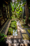 Entry Garden & Fish Pond