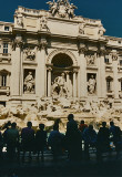 Afternoon at Trevi Fountain