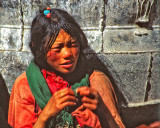 Tibetan Girl in Kathmandu