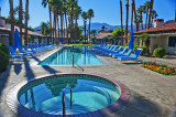 One of the 40+pools at the La Quinta Resort & Spa