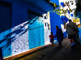 A Walk in the Blue City