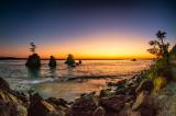 The Three Graces at Tillamook Bay