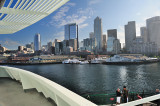 Ferry Departing Seattle