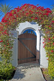 California-Spanish-style Entry