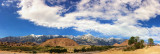 Alabama Hills With Sierras & Mt Whitney