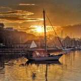 Daybreak Over the Marina