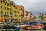 Cloudy Day in Vernazza