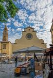 Market day at Church of Santo Spirito