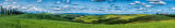 Panorama Stitched from 11 Vertical Frames