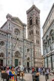 The Bacilica di Santa Maria del Fiore & Campanile di Giotto