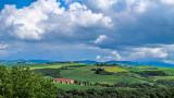 Verdant Hills; Gathering Clouds