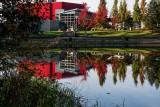 Evergreen Cultural Center - Reflection