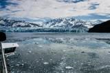 Approaching Hubbard Glacier
